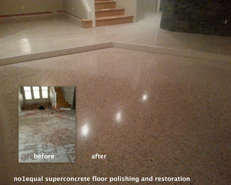 Polished concrete - Concrete polishing - Ireland concrete floors