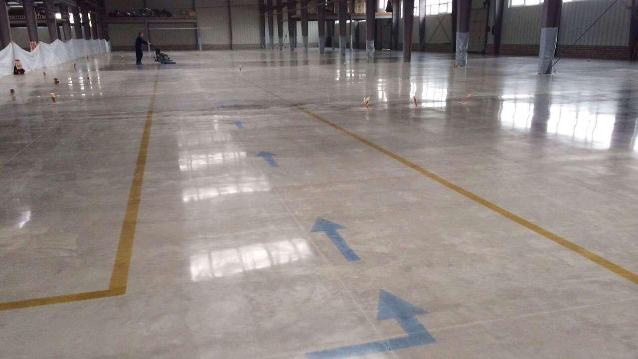 Concria Fast Power Trowel polished concrete system