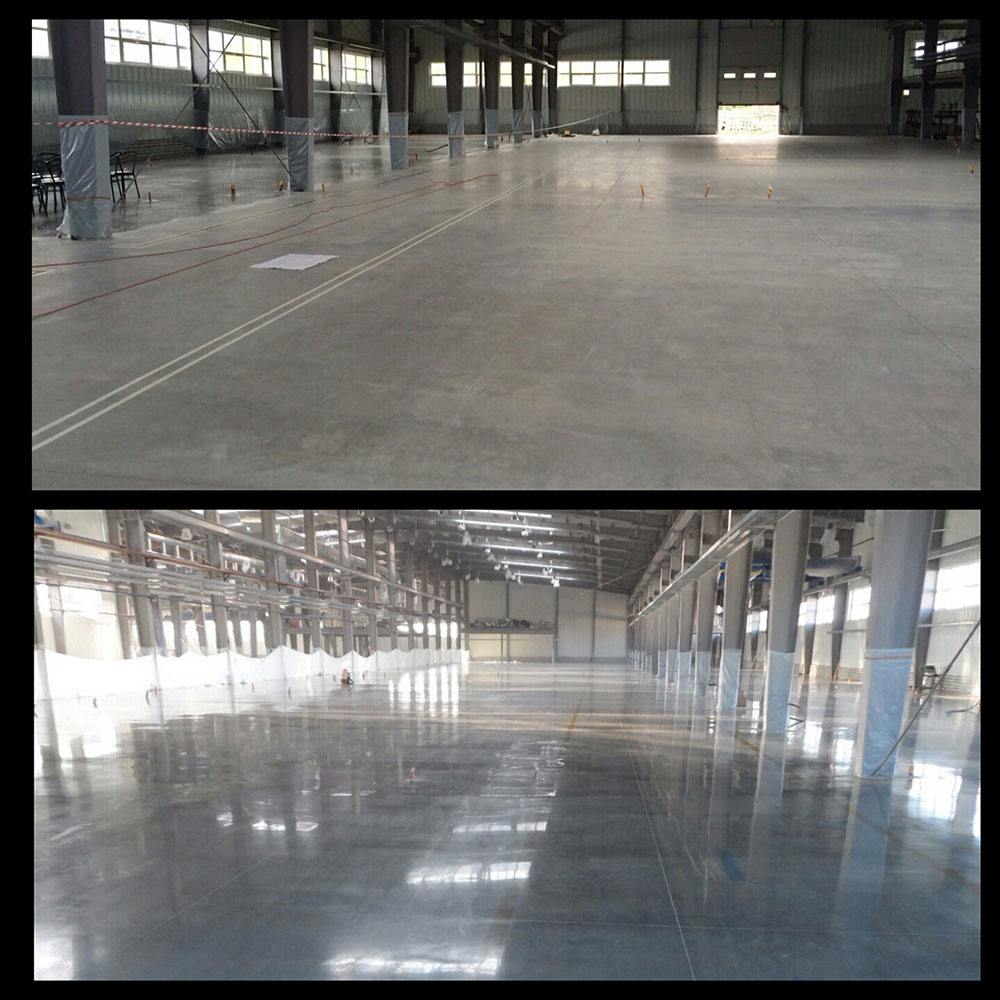 Industrial polished concrete floor industrial floor